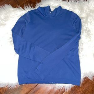 Athleta Girl Hoodie Blue Size Medium 8/10